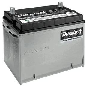 Duralast Platinum Battery 35-AGM