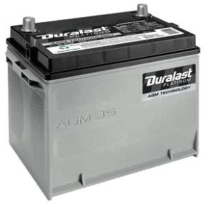 Duralast Platinum Battery 35-AGM
