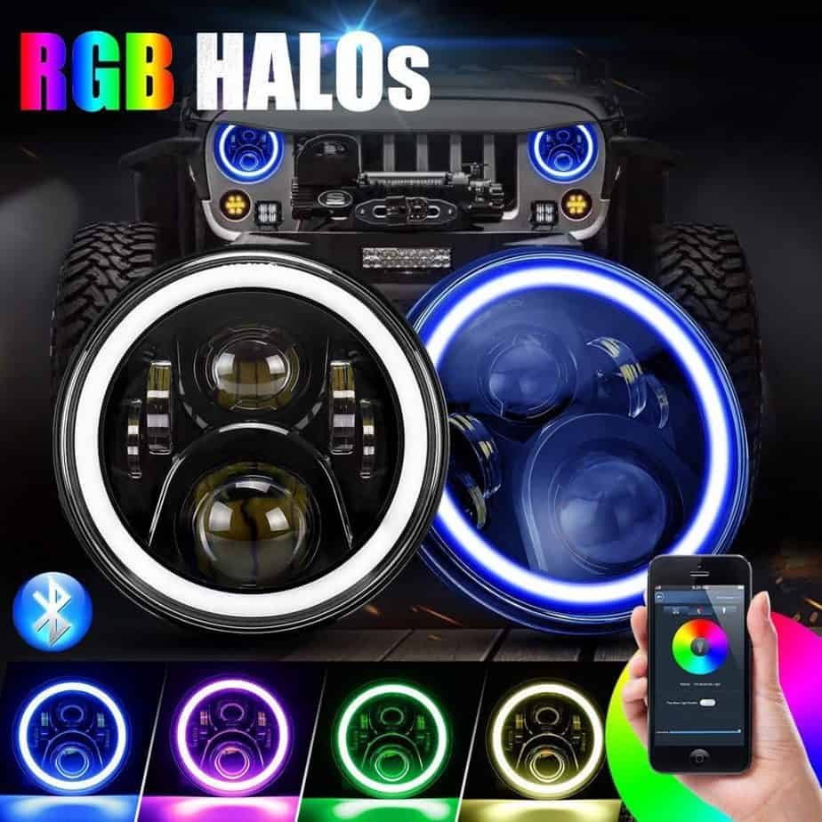 Suparee Halo Headlights