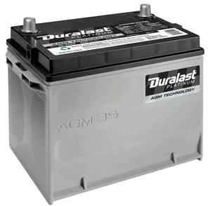 duralast platinum car battery