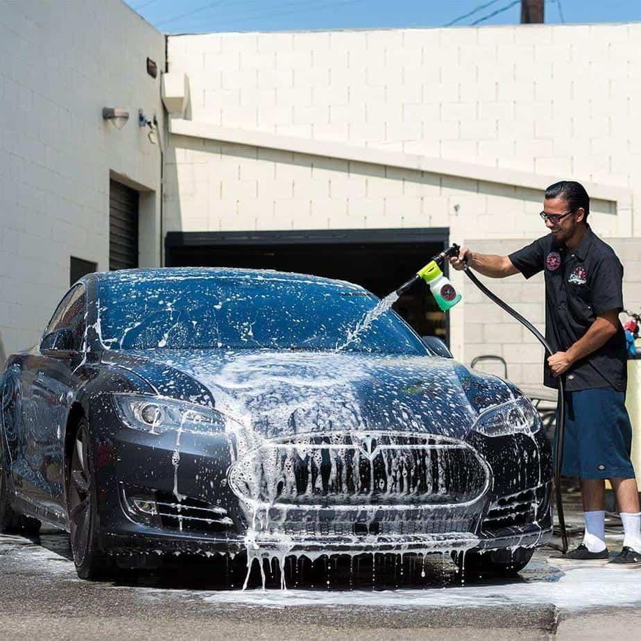 foam car wash