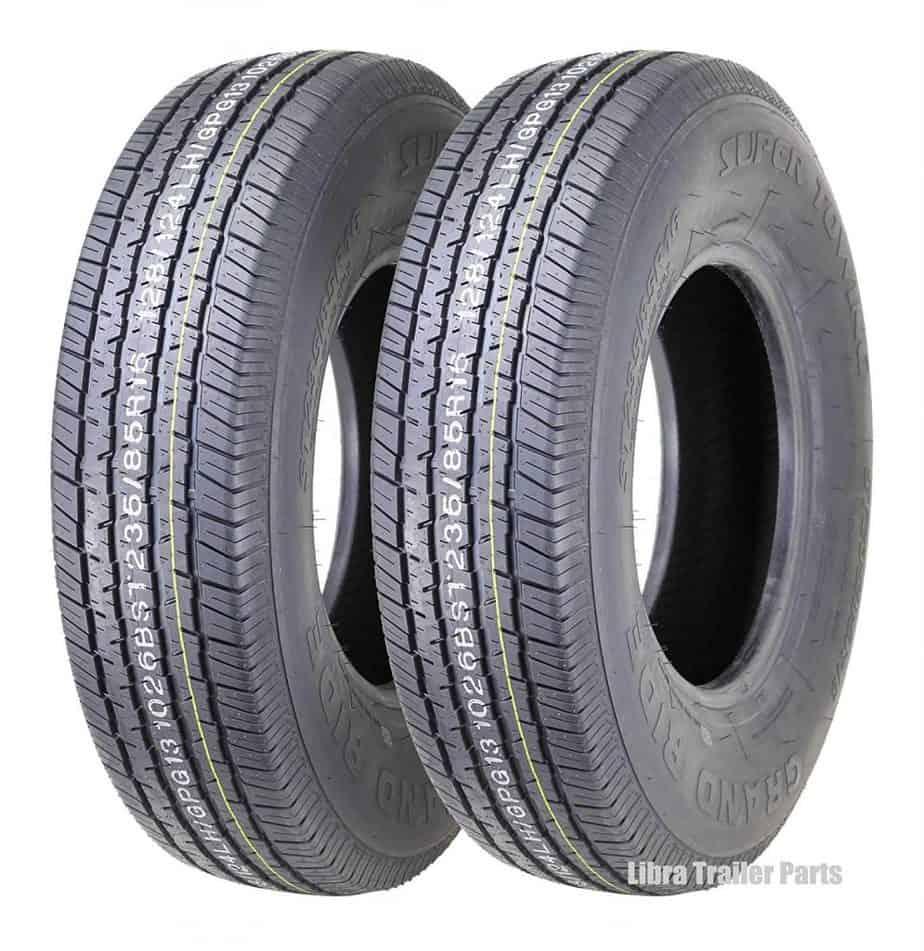 premium grand ride trailer tires