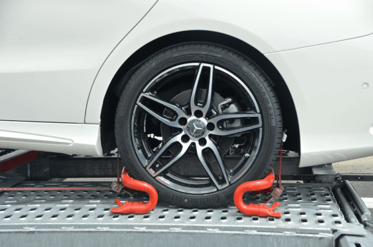 towing tire