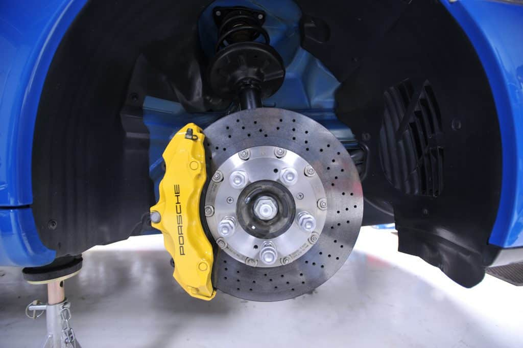porshe ceramic brake