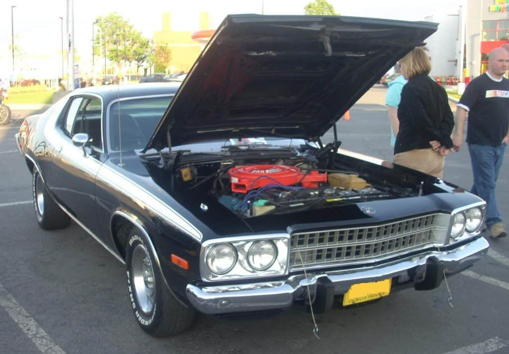 383 in car