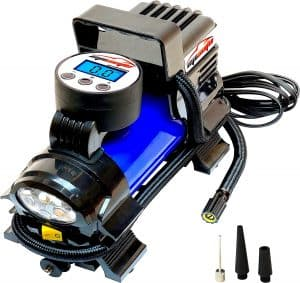 EP Auto 12V Portable Air Compressor and Digital Inflator