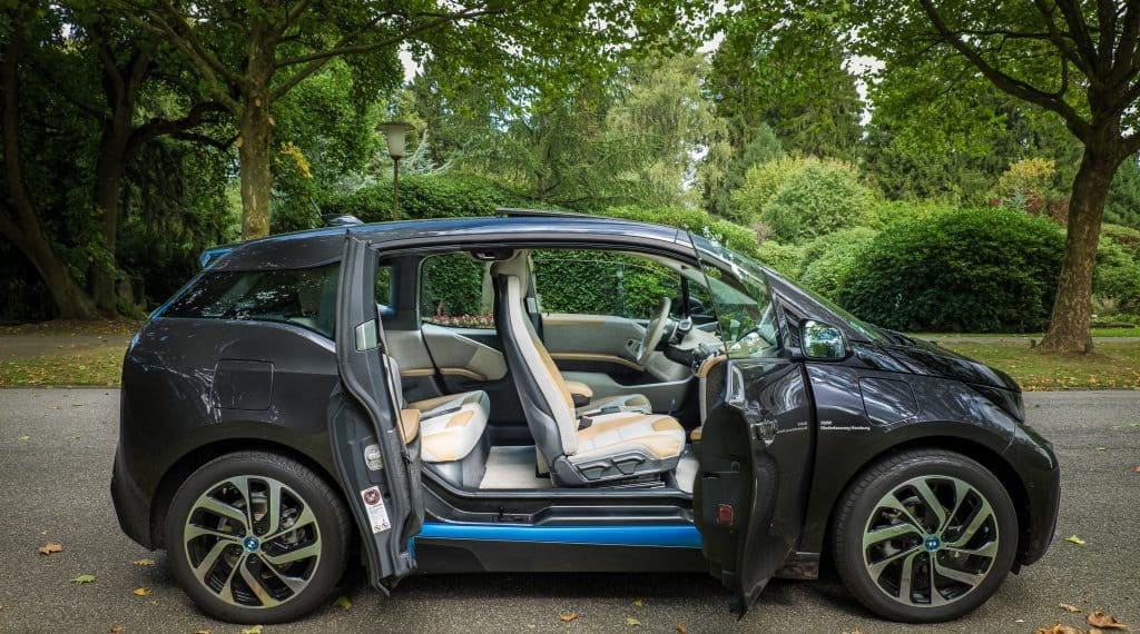 BMW i3 - Side Doors open