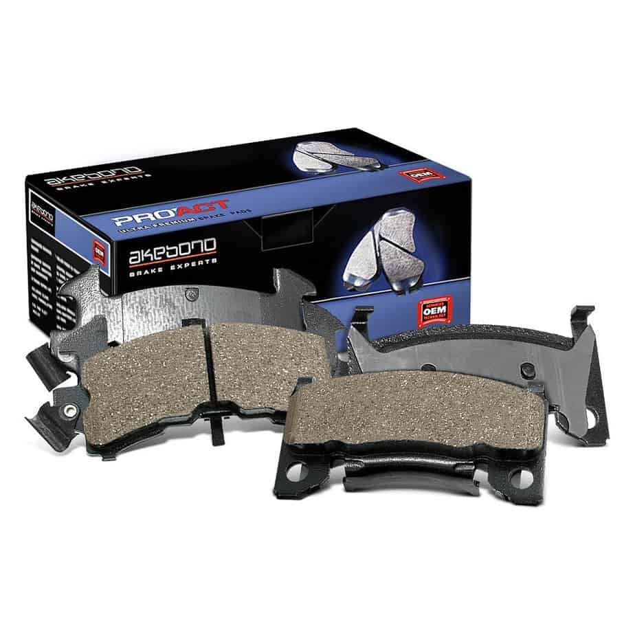 Akebono Pro-Act Ultra-Premium Ceramic Brake Pads