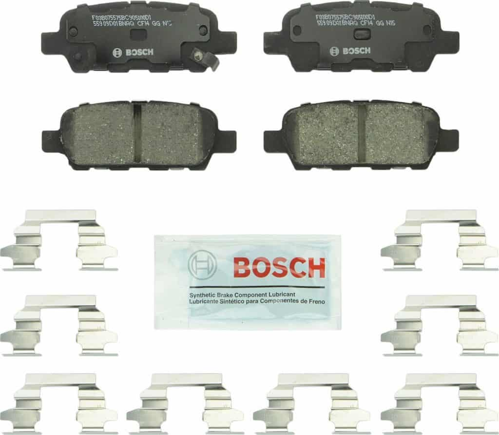 Bosch BC905 QuietCast Premium Ceramic Disc Brake Pads