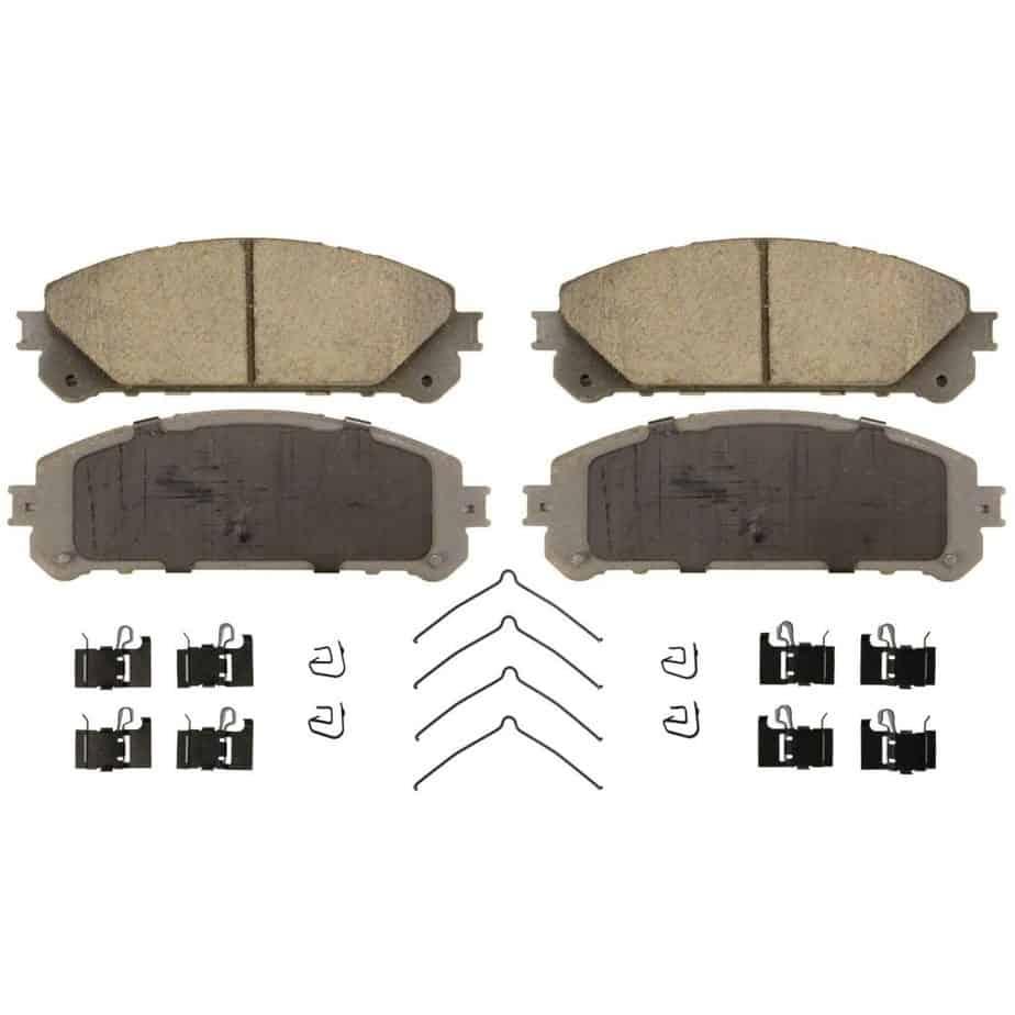 Wagner ThermoQuiet QC1324 Ceramic Disc Pad Set