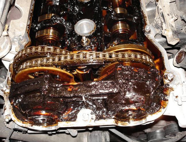 clogged engine