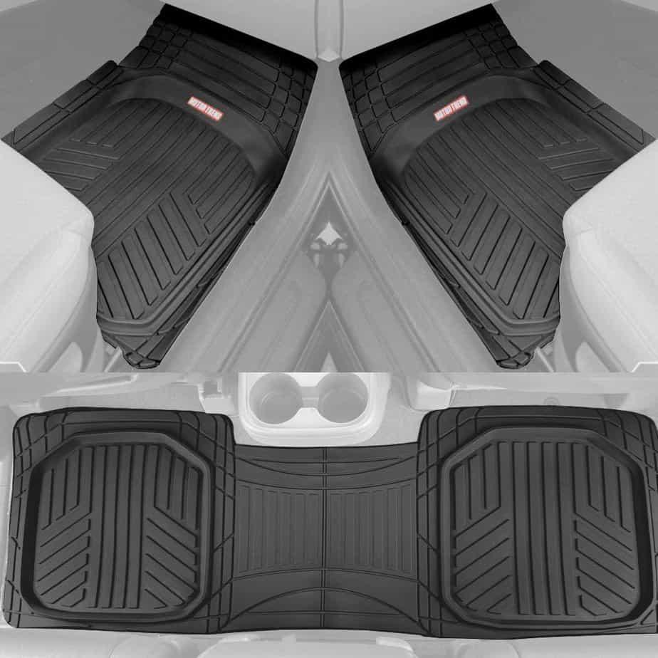 Motor Trend OF-933-BK Floor Mats