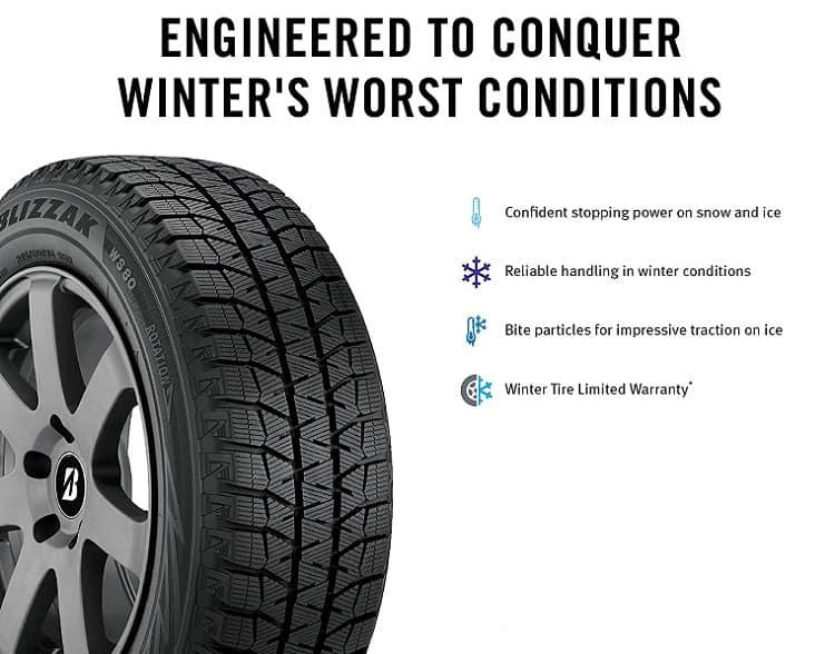 Blizzak Tire Features