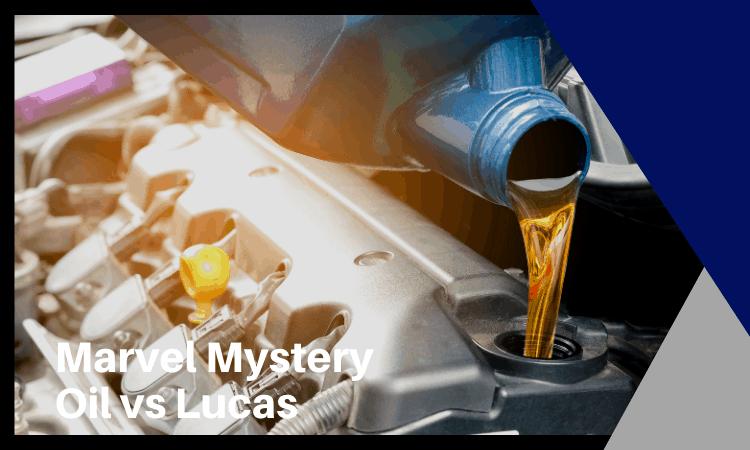 Marvel Mystery Oil vs Lucas