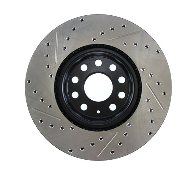 StopTech 127.33098L Slotted Brake Rotor | Advance Auto Parts