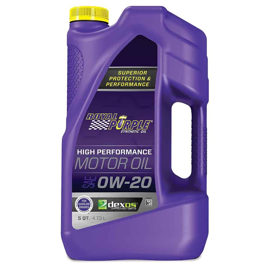 Royal Purple 51020 0W-20 High Performance Synthetic Oil