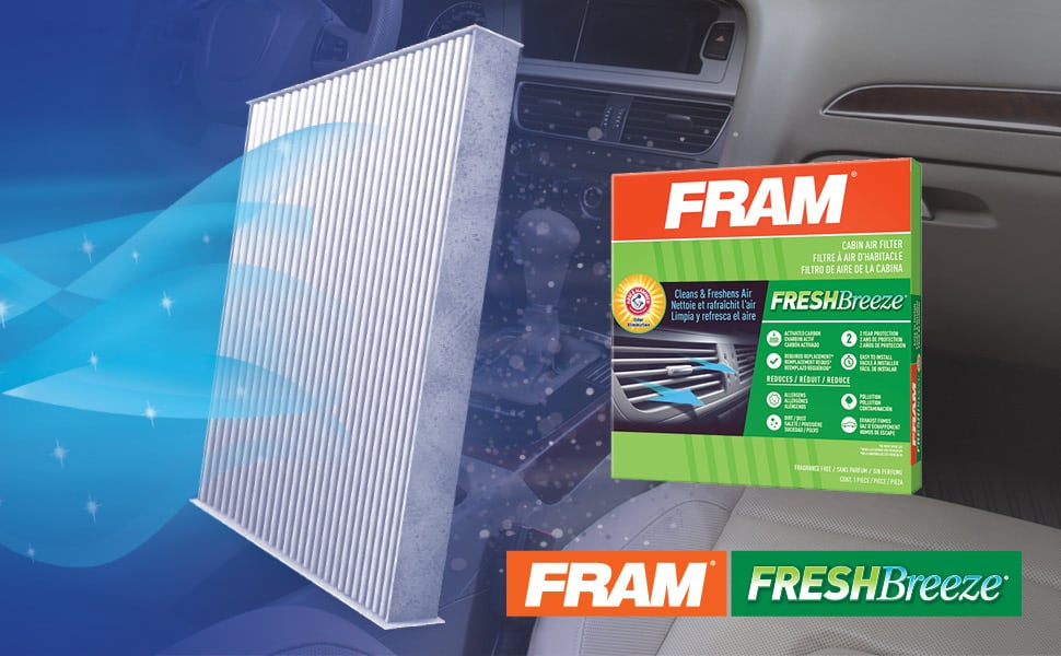 I Personally Went With - FRAM FRESHBreeze Air Filter | Amazon
